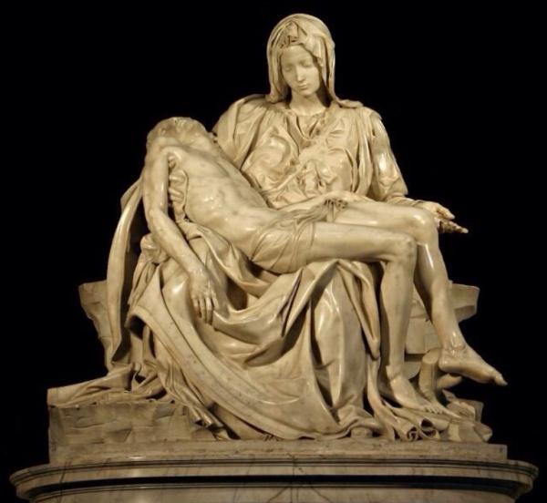 La Pieta - St. Peter's Basilica, Vatican City