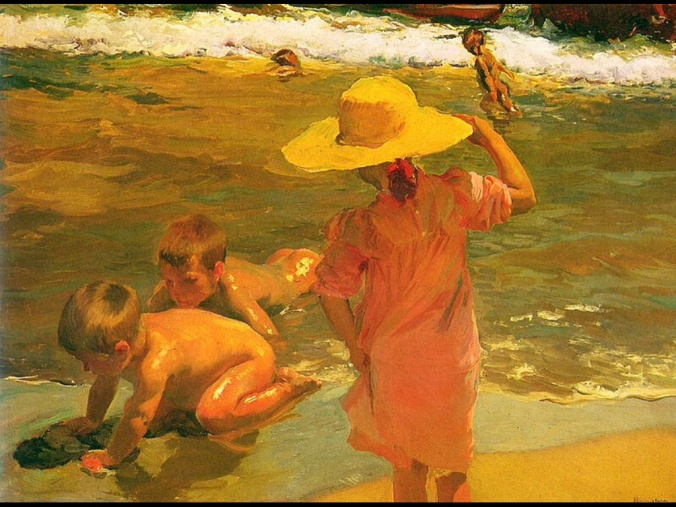 Joaquín Sorolla, Children on the Seashore, 1903