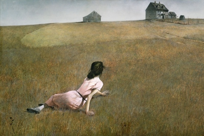 Andrew Wyeth, Christina's World, 1948, tempera on panel