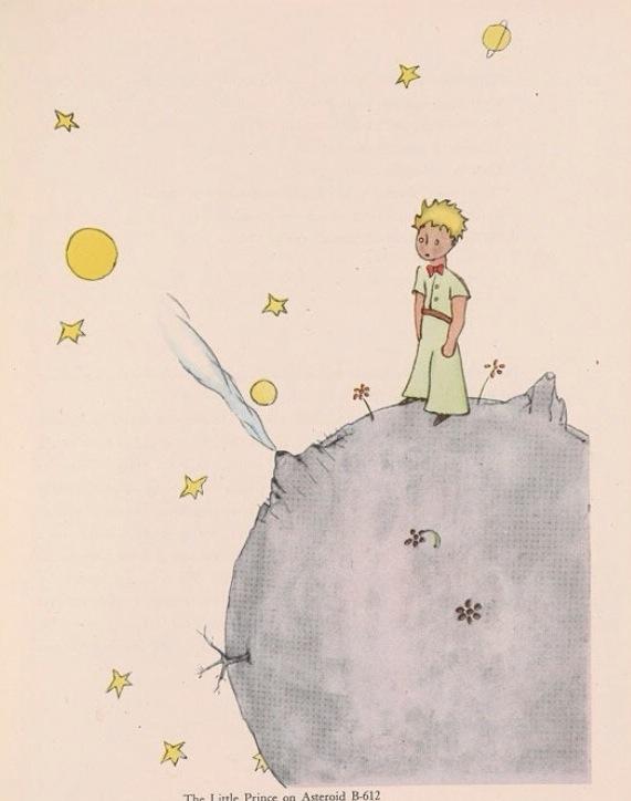 Antoine de Saint-Exupéry (1900-1944), The Little Prince, New York: Reynal & Hitchcock, 1943,
