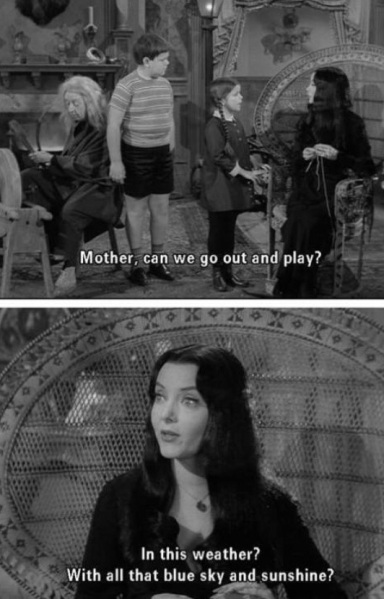 The Addams Family premiered September 14, 1964