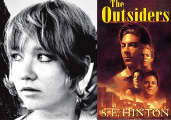 """The Outsiders"" was written by S.E. Hinton at age 15, inspired after a friend who was beaten up on his way home. The mother of one of her friends read the manuscript and contacted an agent based in New York. She was then signed for a small advance and the book was published when she was 19. [x] ""The Outsiders"" was first printed in 1967 and has never been out of print. It is now one of the best selling books of all time."
