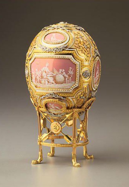 Easter eggs created by Fabergé for the Russian Imperial family, between 1885 and 1916