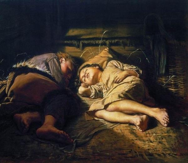 Vasily Perov (1833-82) Russian Realism