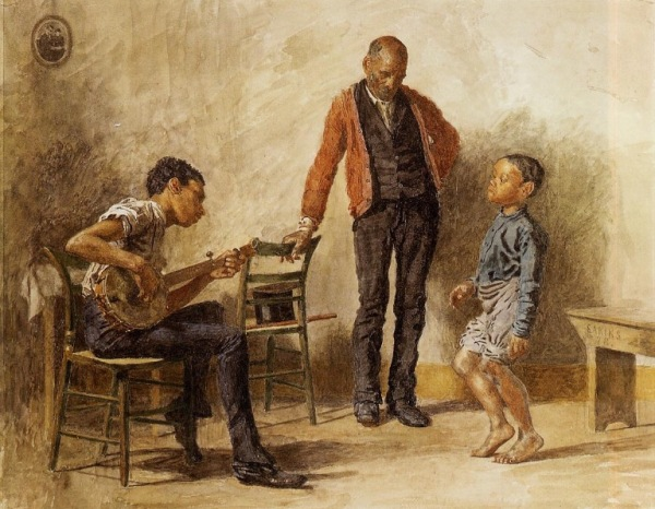 The  Dancing Lesson Thomas Eakins, 1878